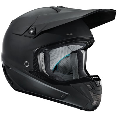 Thor Verge Helmet X-Small Matte Black