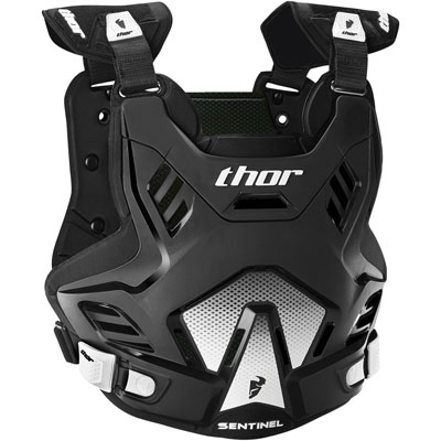 Thor Sentinel GP Roost Deflector Medium/Large Black/White