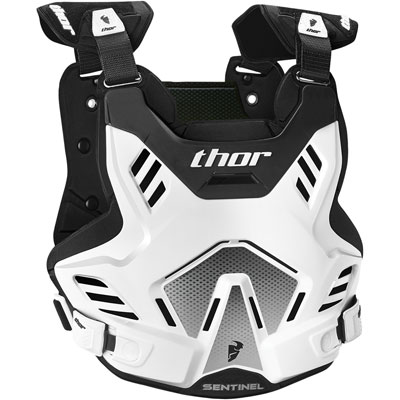 Thor Sentinel GP Roost Deflector Youth White/Black