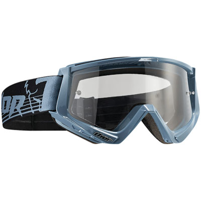 Thor Conquer Goggle  Steel/Black