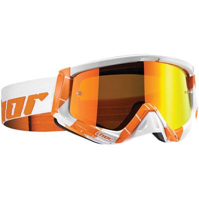 Thor Sniper Goggle  Chase Orange/White