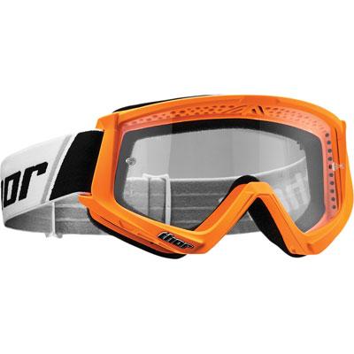Thor Combat Goggle  Flo Orange/Black
