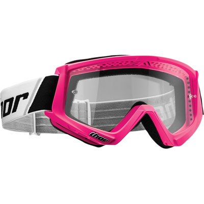 Thor Combat Goggle  Flo Pink/Black