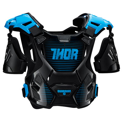 Thor Guardian Roost Deflector Medium/Large Black/Blue