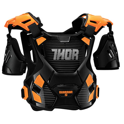 Thor Guardian Roost Deflector X-Large/XX-Large Black/Orange