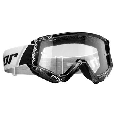 Thor Combat Goggle  Web Black/White