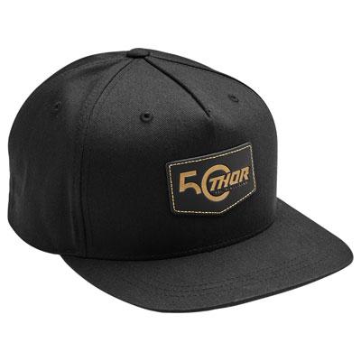 Thor 50th Snapback Hat  Black