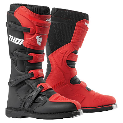 Thor Blitz XP Boots Size 13 Red/Black