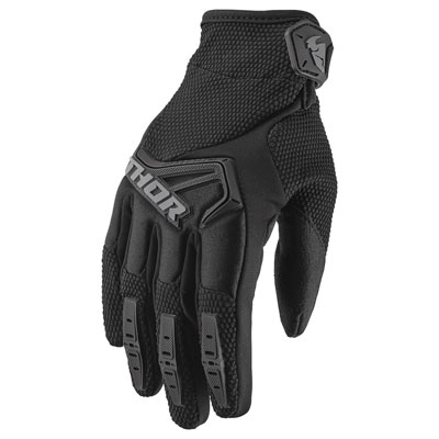 Thor Youth Spectrum Gloves XX-Small Black