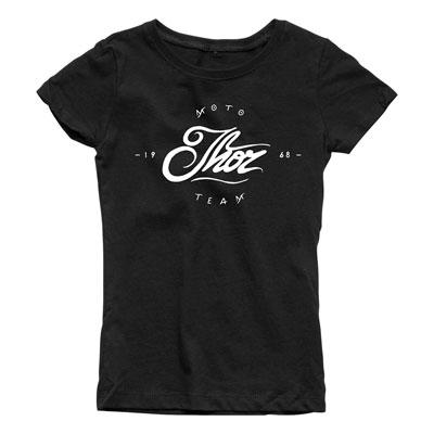 Thor Girl's Youth Runner T-Shirt Medium Black