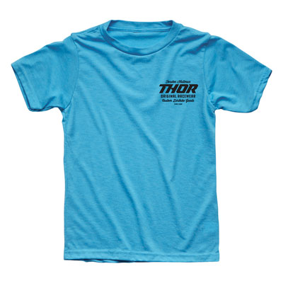 Thor Youth The Goods T-Shirt Small Turquoise