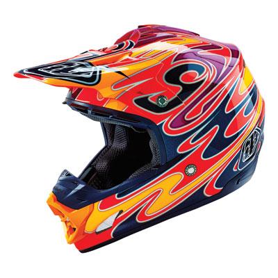Troy Lee SE-3 Reflection Helmet Medium Red