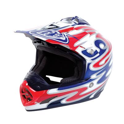 Troy Lee SE-3 Reflection Helmet Medium White