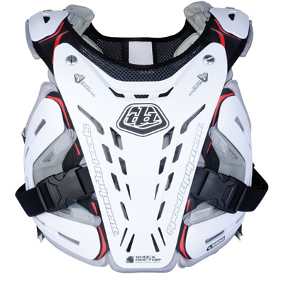 Troy Lee BG 5900 Roost Deflector Large White