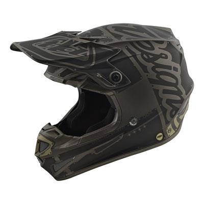 Troy Lee SE4 Factory Helmet Large Matte Grey