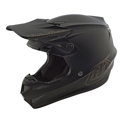 Troy Lee SE4 Mono Helmet Medium Matte Black