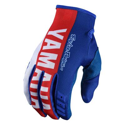 Troy Lee GP Yamaha Gloves Large Blue