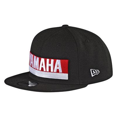 Troy Lee Yamaha Factory Snapback Hat  Black