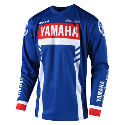 Troy Lee GP Yamaha Jersey XX-Large Blue