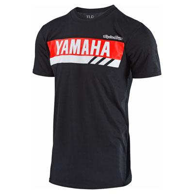 Troy Lee Yamaha RS1 T-Shirt Medium Black