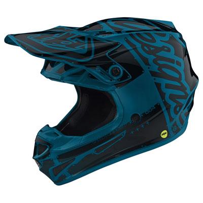 Troy Lee SE4 Factory Helmet Small Ocean