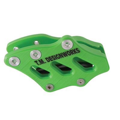 T.M. Designworks Factory Edition 2 Rear Chain Guide  Kawasaki Green