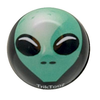 Trik Topz Alien Valve Caps  Green