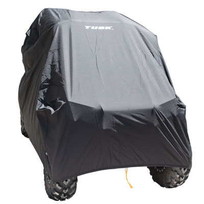 "Universal Deluxe Waterproof UTV Cover Black Fits Up To 108/"" L"