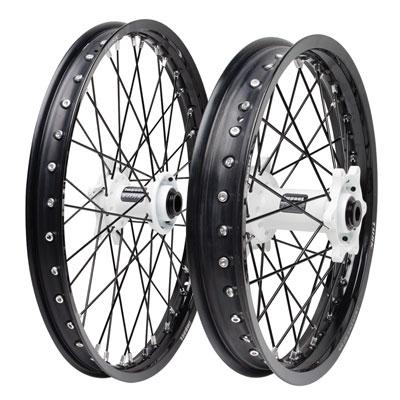 Front 21 Black for KTM 450 SX-F 2007-2019 Motorcycle Spoke Kit