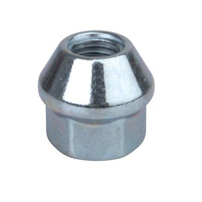 Tusk OEM Style Tapered Chrome Lug Nut 10mm x 1.25mm Thread Pitch