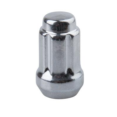 Tusk Tapered Chrome Spline Drive Lug Nut 12mm x 1.50mm Thread Pitch