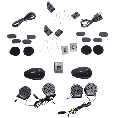 UCLEAR® AMP Plus Helmet Audio System Pair