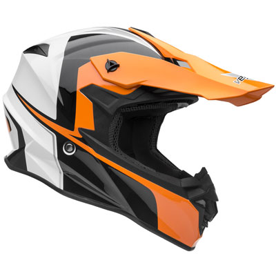 Vega VF1 Helmet Large Stinger Hi-Vis Orange