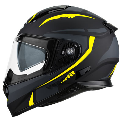 Vemar Zephir Mark Helmet XX-Large Black/Yellow