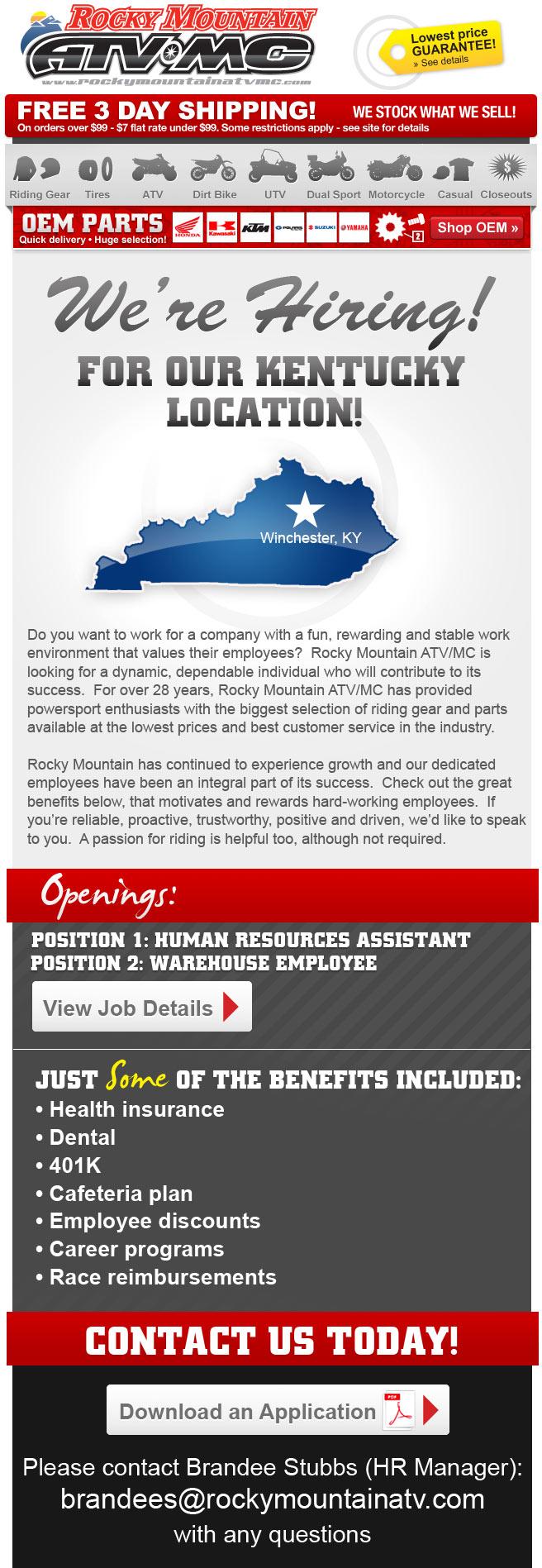 kentucky warehouse opening rocky mountain atv mc rocky mountain atv mc specials