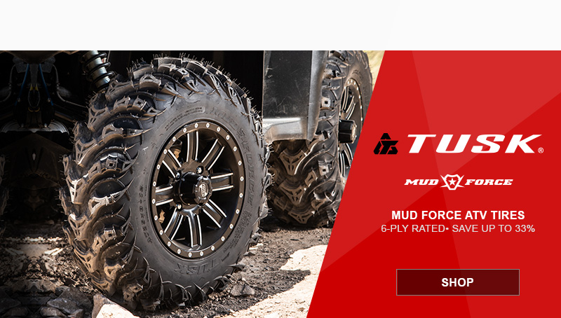 Tusk ATV Mud Force Tires