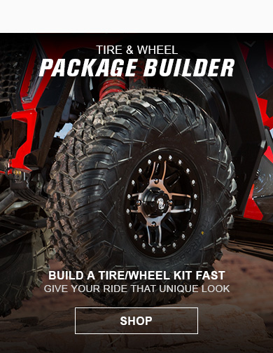 ATV Tire and Wheel Kit Builder