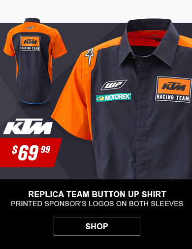 KTM Replica Team Button Up Shirt