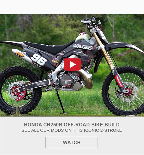 Honda CR250R Bike Build