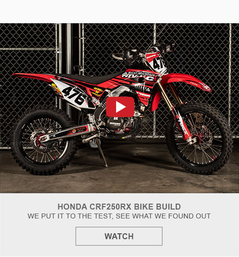 Honda CRF250RX Bike Build