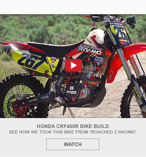 Honda CRF450R Bike Build