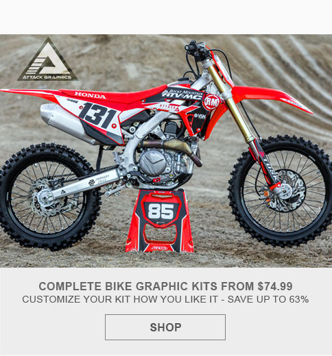 Attack Graphics for Dirt Bikes