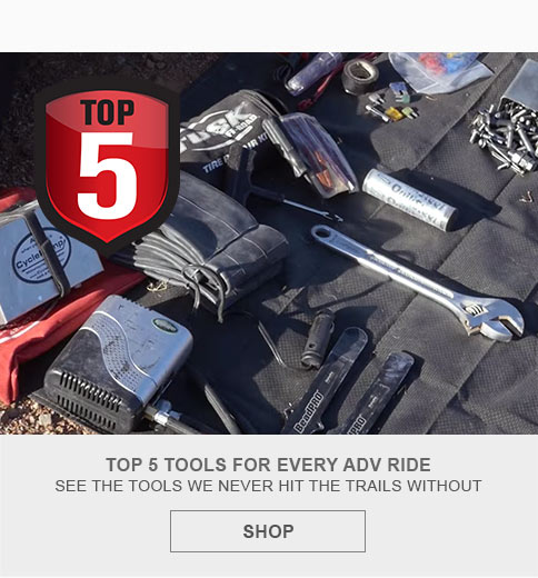 Top 5 tools for every adv ride
