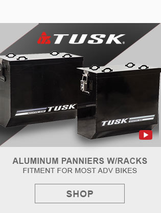 Tusk Aluminum Panniers with Racks