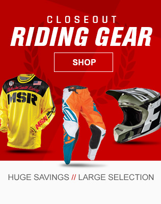 Dirt Bike Closeout Gear
