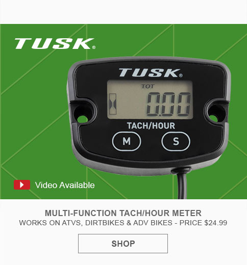 Tusk Multi-Function Tach/Hour Meter