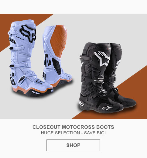 Closeout Motocross Boots