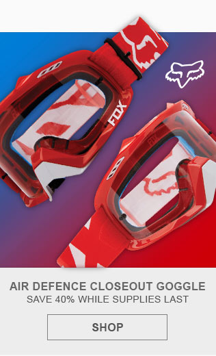 Fox Air Defence Motocross Goggles