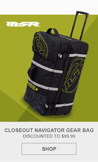 MSR Motocross Navigator Gear Bag