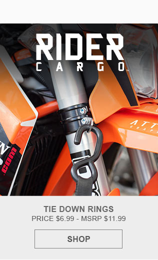 Rider Cargo Tie-Down Rings
